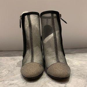 Chanel Mesh booties